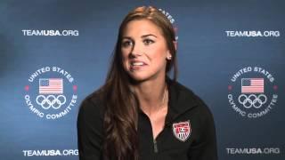 Alex Morgan Interview - May 15, 2012