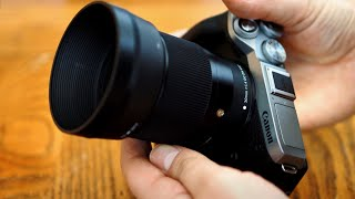 Sigma 30mm f 1 4 DC DN 39 C 39 lens review tested on Canon EF-M and Sony E