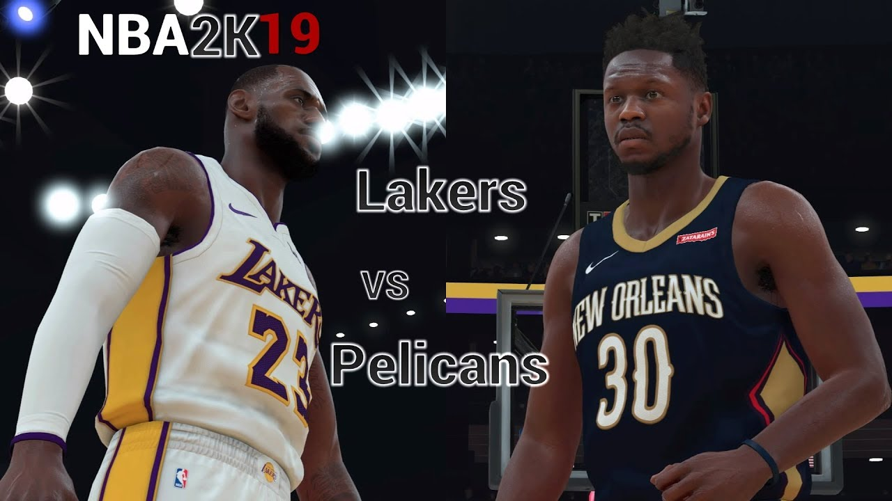 0d5fd147a231 NBA 2K19 Roster - New Orleans Pelicans   Los Angeles Lakers(LeBron) - NBA  2K18(Updated Rosters)