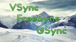 VSync / GSync / FreeSync - Was ist das eigentlich? | Simon
