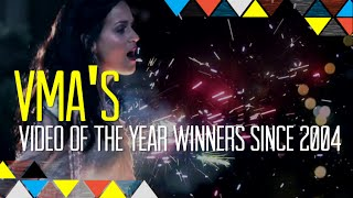 Idolator Instant: MTV VMAs Video Of The Year Award Winners From 2004-2013