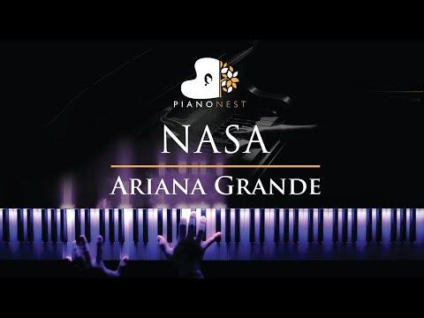 Ariana Grande - NASA - Piano Karaoke / Sing Along Cover With Lyrics