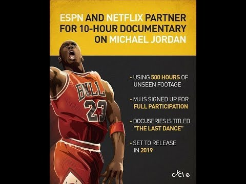 reputable site 725a4 077a2  Great News  MICHAEL JORDAN Documentary on the Bulls in the 90s in 2019