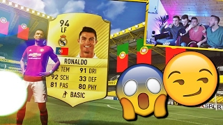 FIFA 17 RONALDO IM PACK 🔥⛔️ DIE HEFTIGSTE PACK ESKALATION 😈😱