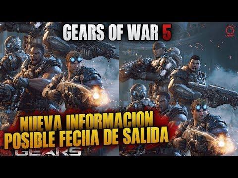 GEARS OF WAR 5   POSIBLE FECHA DE SALIDA Y NUEVAS IMAGENES!!