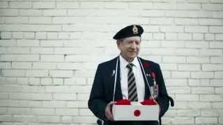 Publicité télé Bell Canada. Jour du Souvenir: Coquelicot.