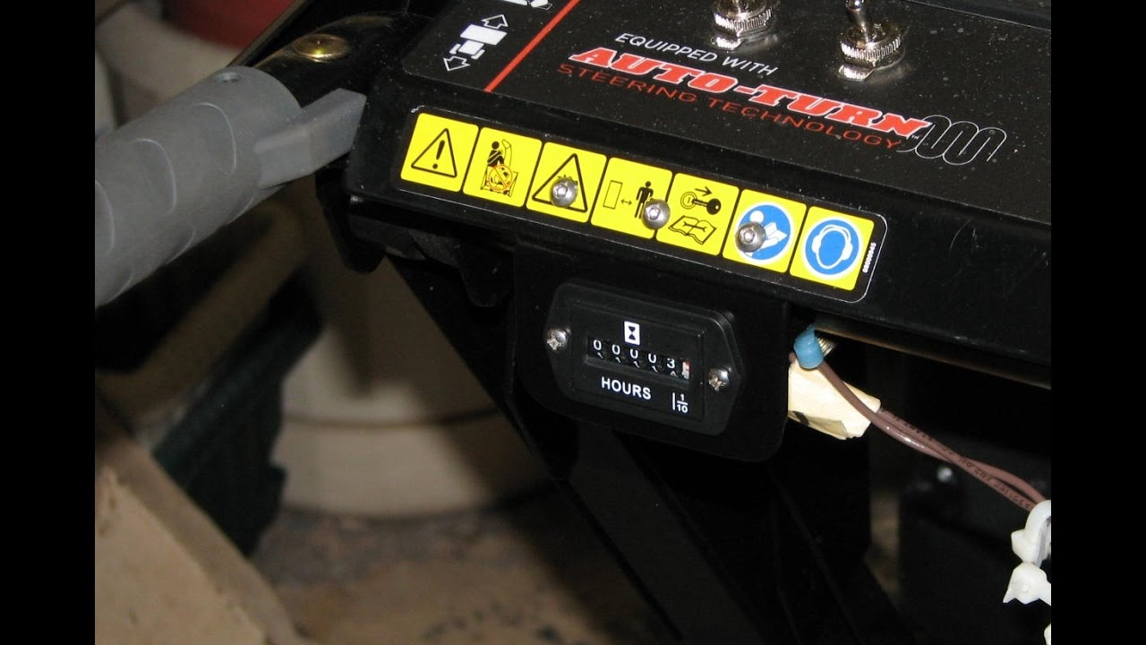 What hour meter / tach did you add on? - Snowblower Forum