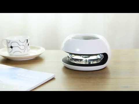 Crystal Ball Solar Power Car Air Purifier Home Negative Ions Air Cleaner