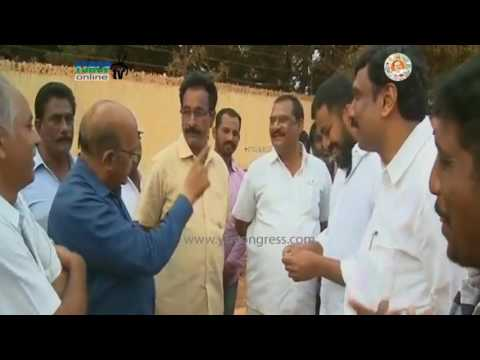 Nellore : YSRCP MLA Anil Kumar Yadav utilities his Vote in MLC Elections - 9th Mar 2017