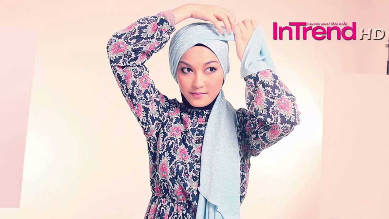 InTrend Tutorial Hijab PART 6 HIJAB FRIDAY Glitter Shawl
