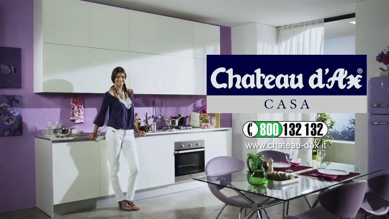 Cristina Chiabotto  Spot Cucine Chateau dAx Luglio 2012
