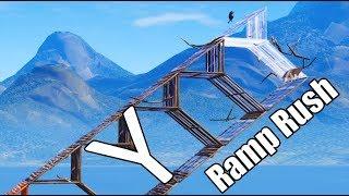 The Y Ramp Rush (Easy) - Fortnite Battle Royale