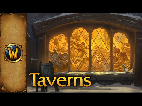 World of Warcraft - Ambience - Taverns of Azeroth (With Music)