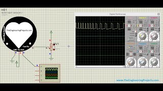 Heart Beat Sensor Library V2 0 for Proteus by The Engineering Projects
