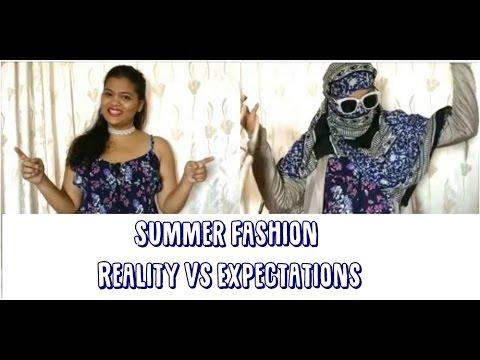 Summer Fashion in India Expectations VS Reality   Shivani   BWAT