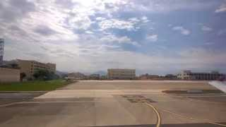 Wizzair take off Naples NAP  full HD