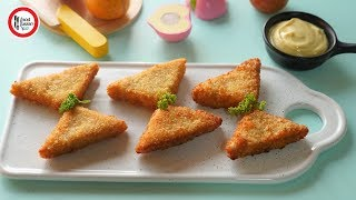Chicken Triangles by Food Fusion Kids