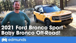 2021 Ford Bronco Sport Review | First Impression of Ford's Newest 4x4 SUV | Driving, Interior & More