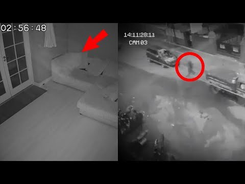Top 7 Scary & Spooky Moments Caught on Camera