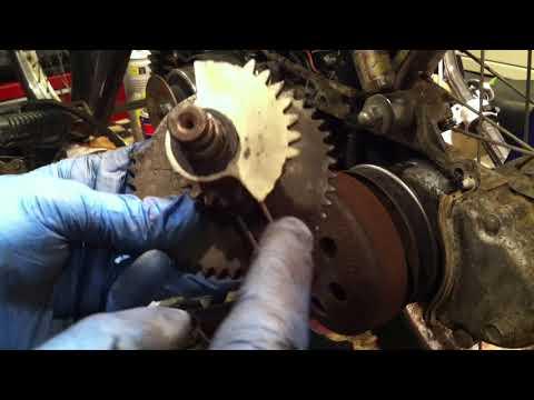 Honda Urban Express Belt Replacement and Kick Start Re-assembly