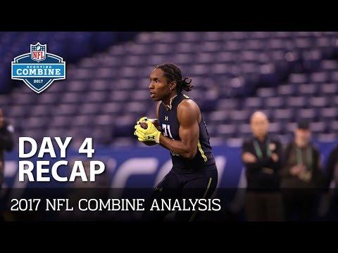 2017 NFL Combine Day 4 Top Performers | Defensive Backs | NFL Now