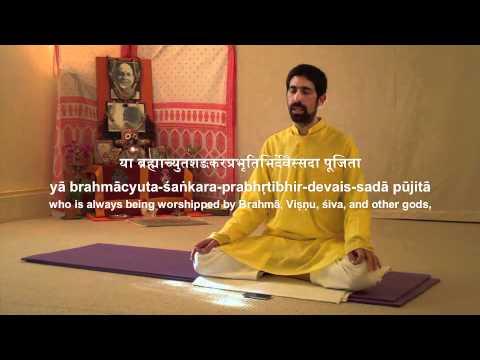 Dhyana Slokas (Gajananam Prayer)