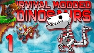 Minecraft: Modded Dinosaur Survival Let's Play w/Mitch! Ep. 1 - DINOS RETURN! SEASON 3!