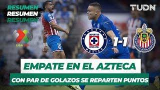 Resumen y Goles Cruz Azul 1 - 1 Guadalajara | Liga MX - Apertura 2019 - Jornada 8 | TUDN