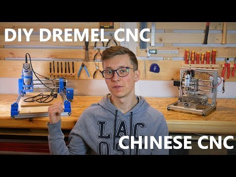 DIY Dremel CNC vs T8 CNC Machine