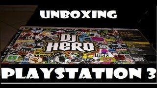Unboxing DJ Hero Bundle - PlayStation 3