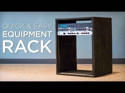 How To Build A Quick And Easy Equipment Rack