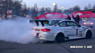 Modified bmw m3 e92 drift and burnout!