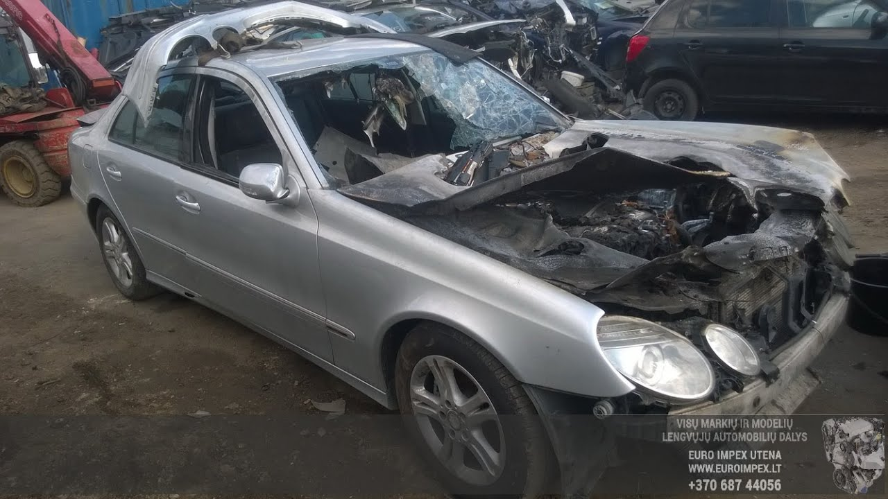 Car Recycler Parts Mercedes Benz W211 2009 E 220 Cdi 125kw