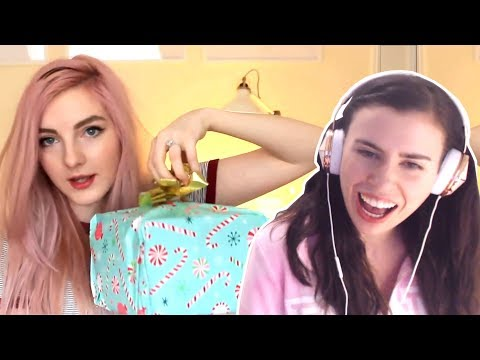 REACTING TO LDSHADOWLADY OPENING OUR SURPRISE GIFTS!!!
