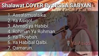 Nissa sabyan FULL ALBUM penyejuk hati Terbaru 2018 ASSALAMUALAIKA || Ahmad ya habibi// (02)