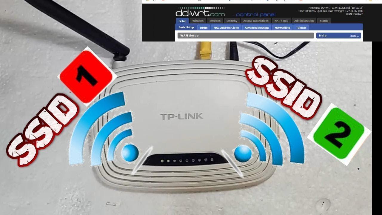Instal DD-WRT WR740N suport multi SSID