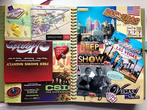 My Travel book! Smash Book start to finish