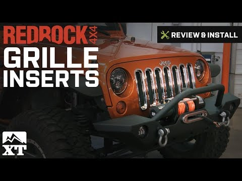 Jeep Wrangler RedRock 4x4 Grille Inserts (2007-2016 JK) Review & Install