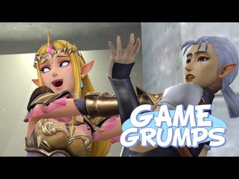 "Game Grumps Animated Zelda: A Link Between Worlds - ""I'm sorry, are YOU the Princess!?"" (SFM)"
