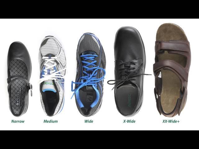 shoe size e