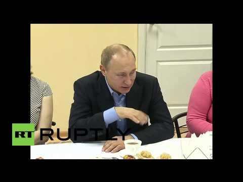 Russia: Putin inspects the reconstruction progress in fire-battered Khakassia