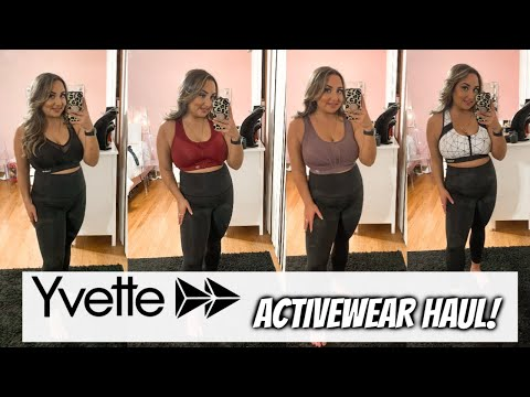 BEST HIGH IMPACT SPORTS BRAS | YVETTE SPORTS| ACTIVEWEAR TRY ON HAUL!