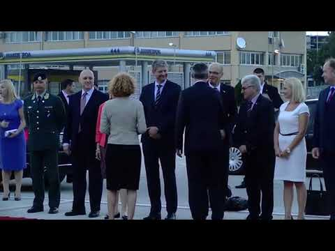 Столтенберг пристигна во дводневна официјална посета на Македонија