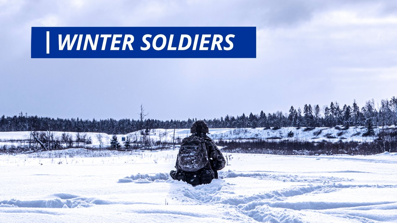 US Military News • Winter Soldiers – UK Troops Train in Estonia in Freezing Temperatures