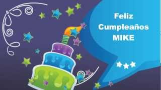 Mike - Card Tarjeta - Happy Birthday