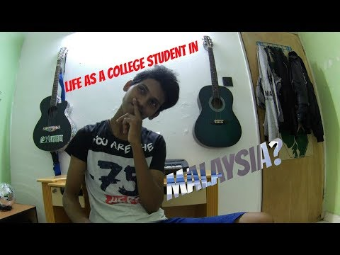 Life as a college student in Malaysia? Let's go to my college!
