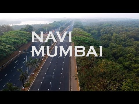 Navi Mumbai Drone View | ft. Palm Beach Road, Bhandup Pumping & Salt farming