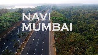 Navi Mumbai Drone View | ft. Palm Beach Road, B...