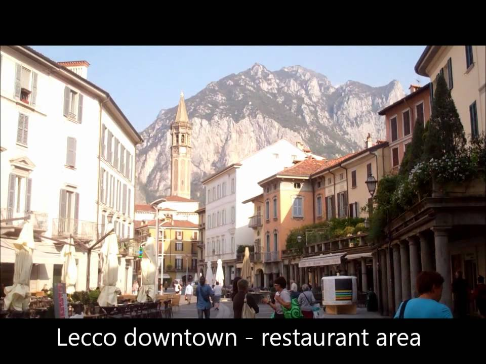 Lecco Italy YouTube