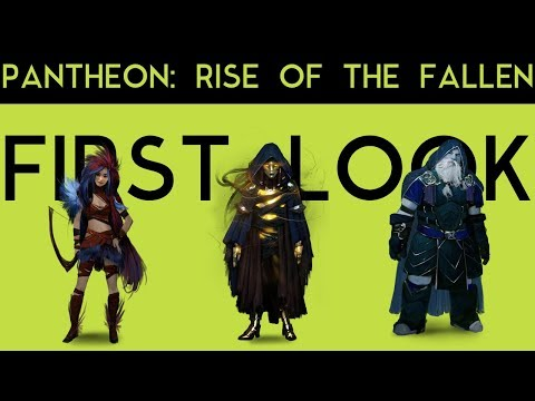 PANTHEON: RISE OF THE FALLEN - WHAT WE KNOW SO FAR